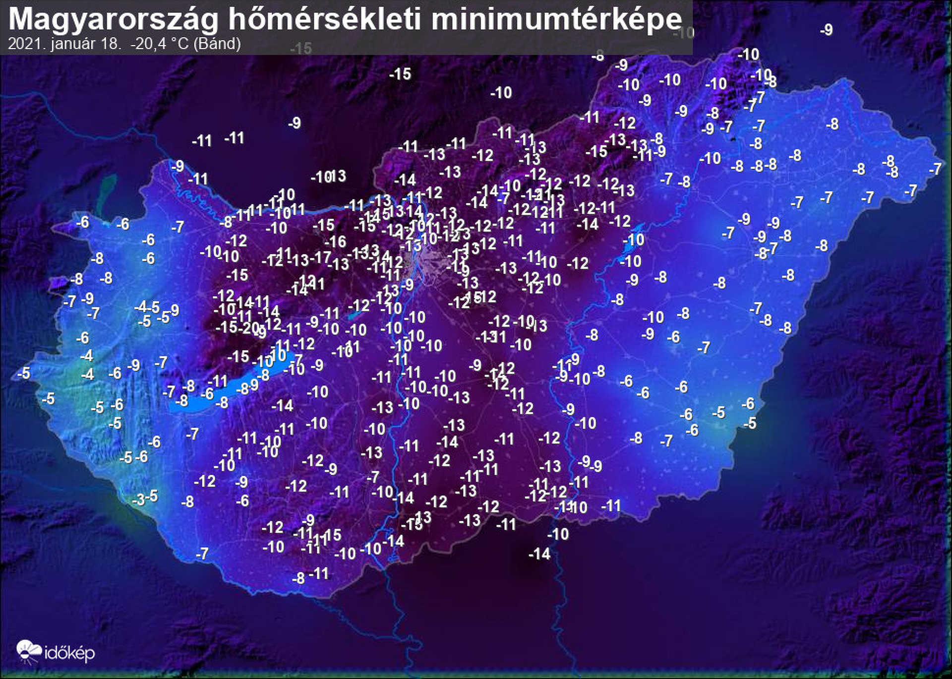 Éjszakai hideg 2021, január.17.