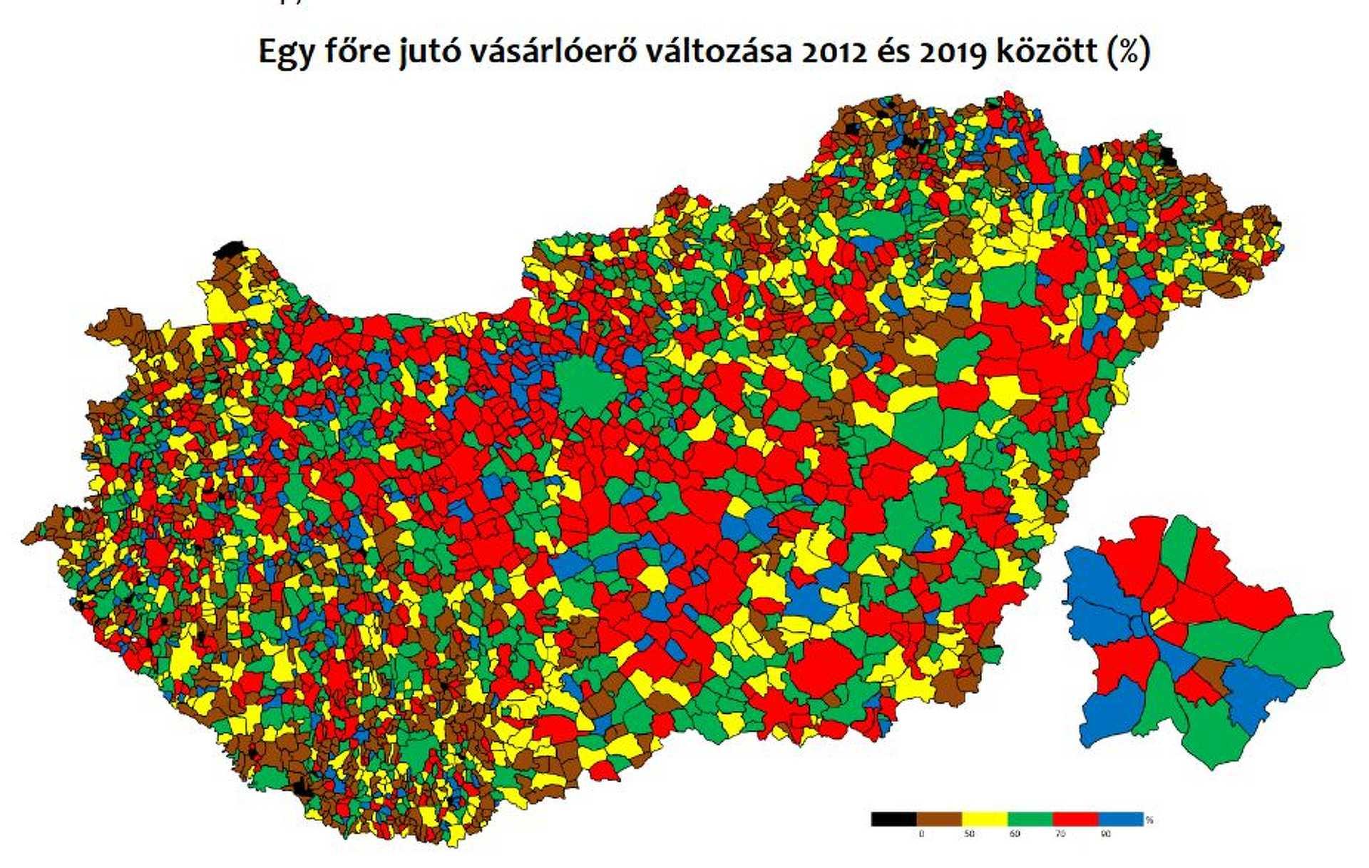 NAV és KSH adatok alapján GKI számítás