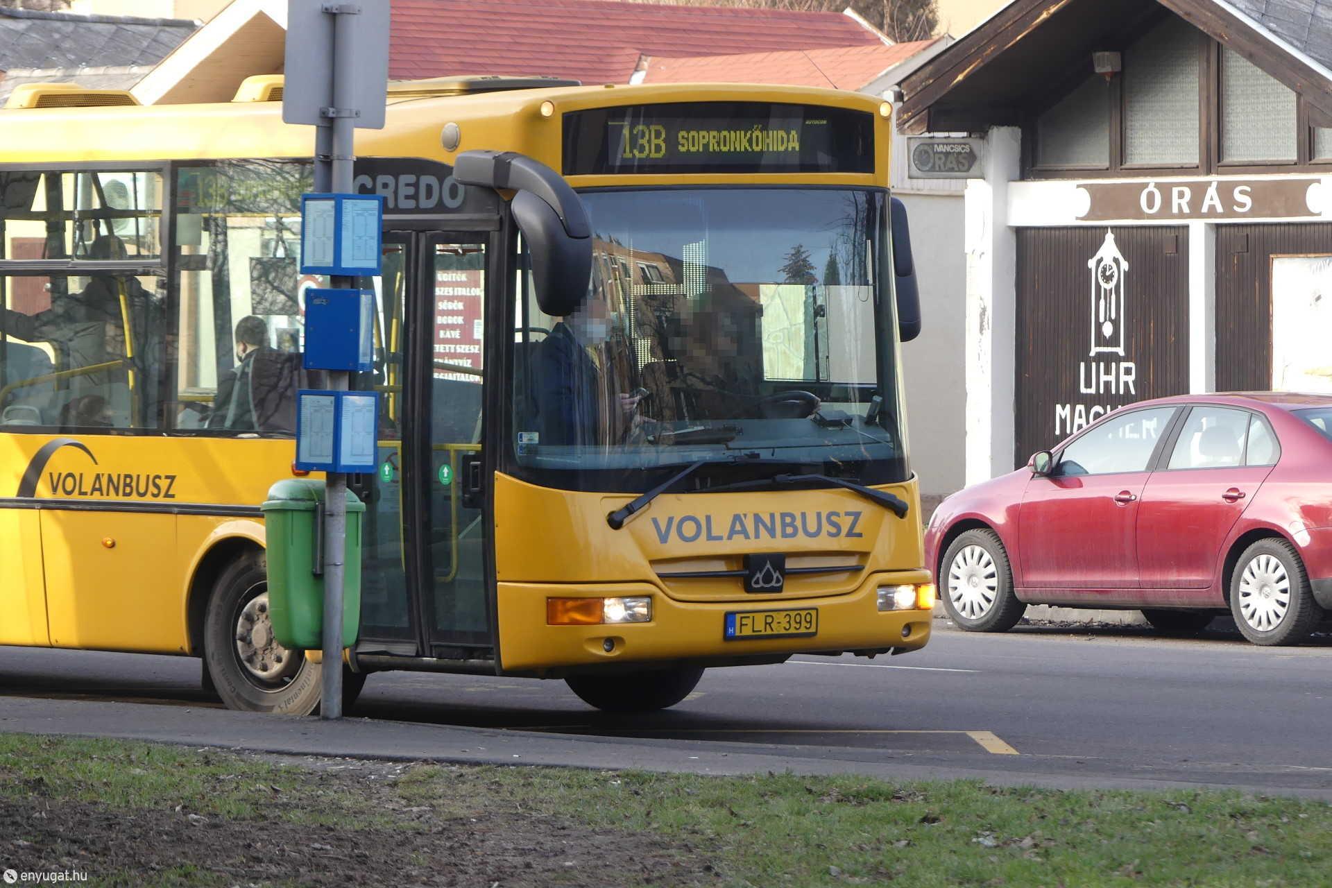 Buszjárat Sopron
