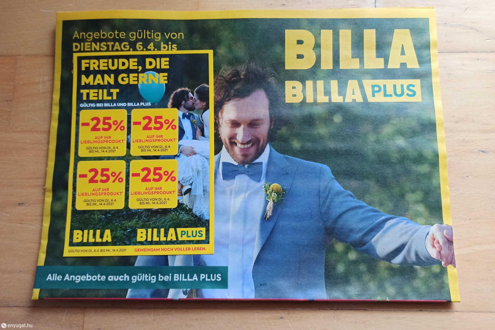 BILLA akciós újság