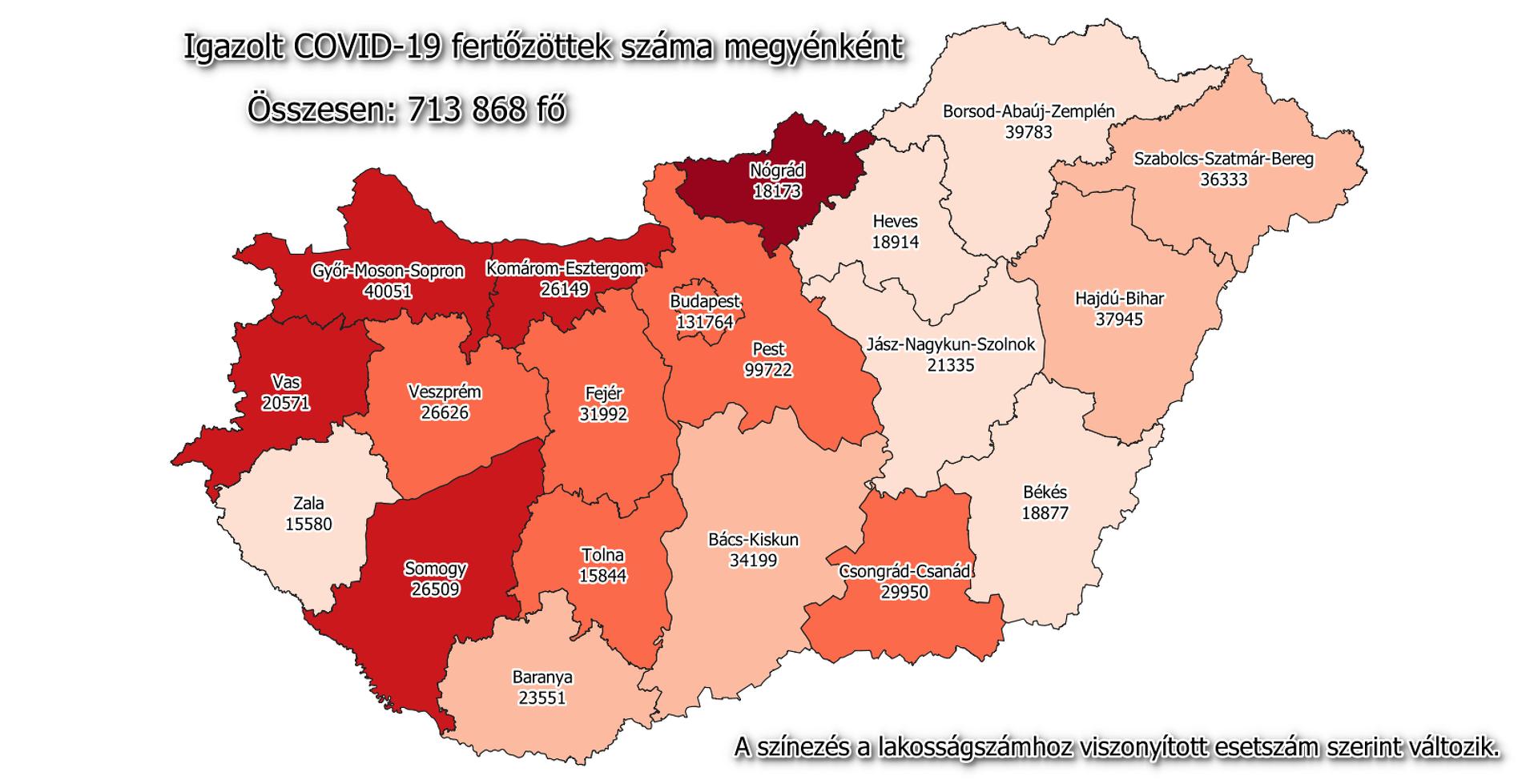 Koronavírus térkép 04. 10.