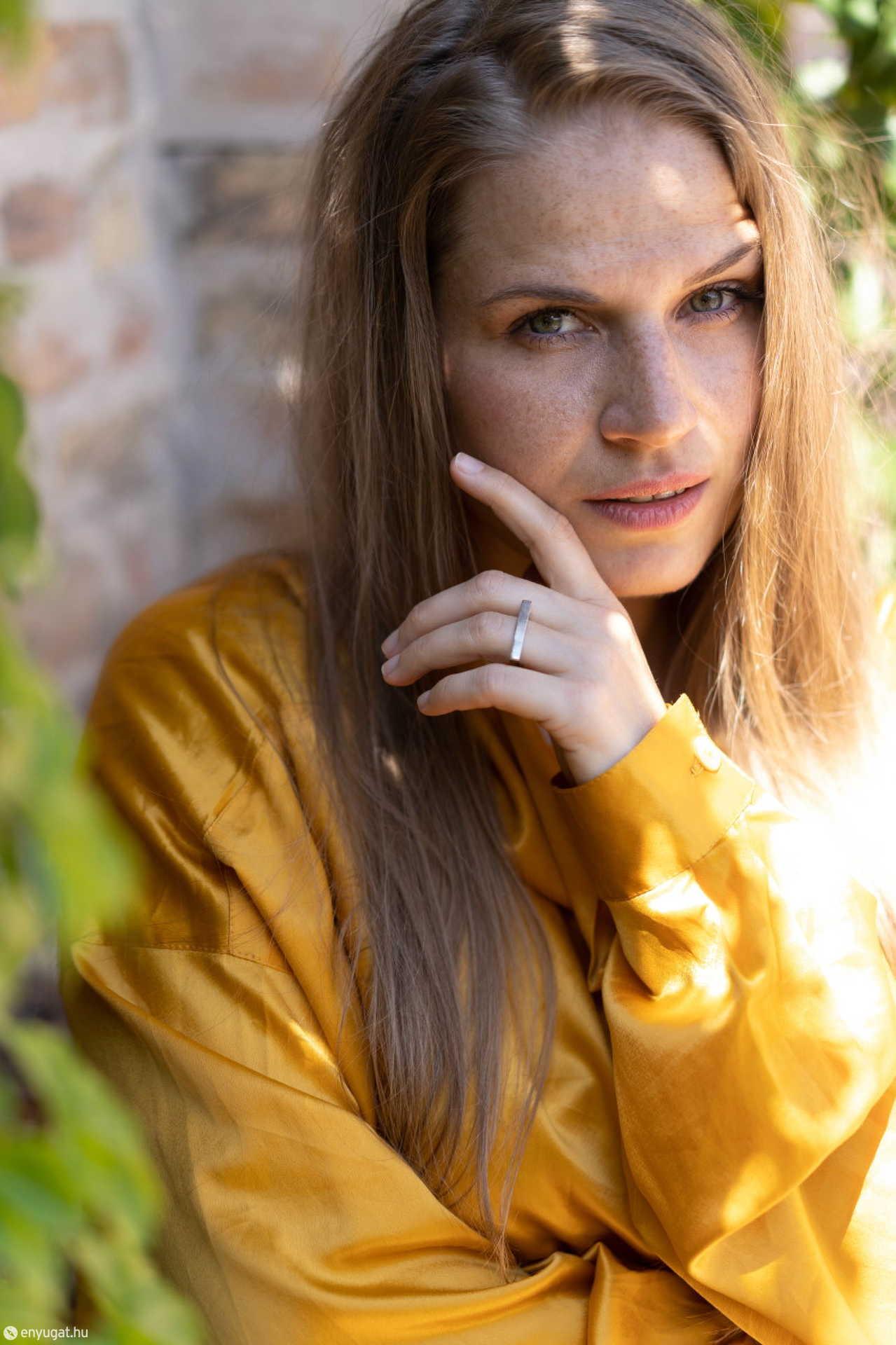 Páder Petra már a soproni színitanodában eltökélte: színésznő lesz.