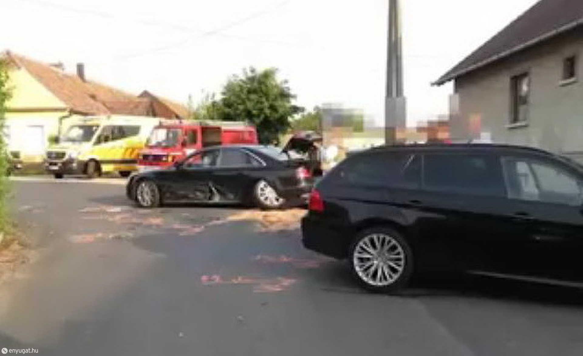 Baleset helyszínén találták meg a rendőrök a száguldó BMW-t
