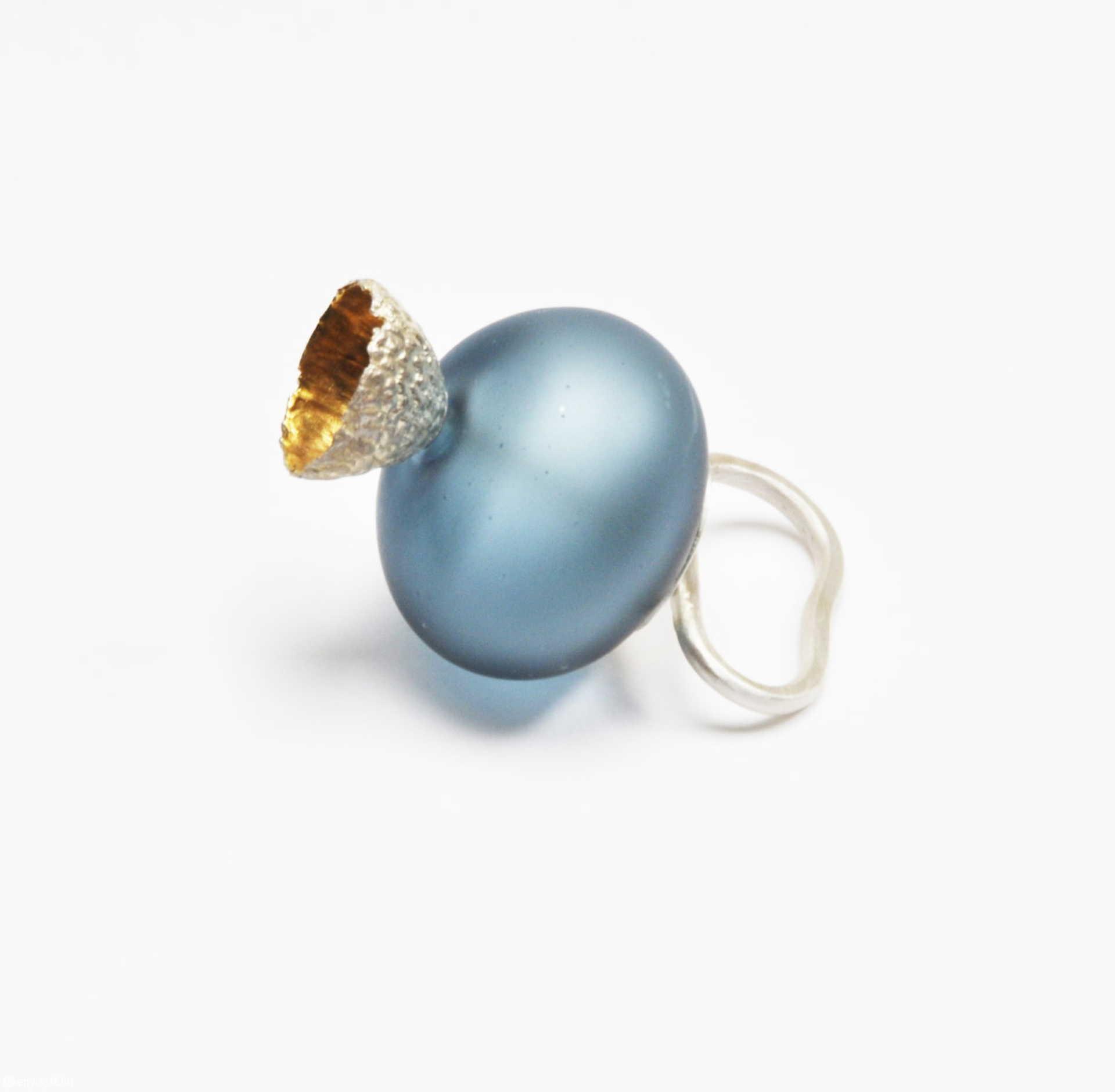 Gyűrű a Florál buborék sorozatból.
