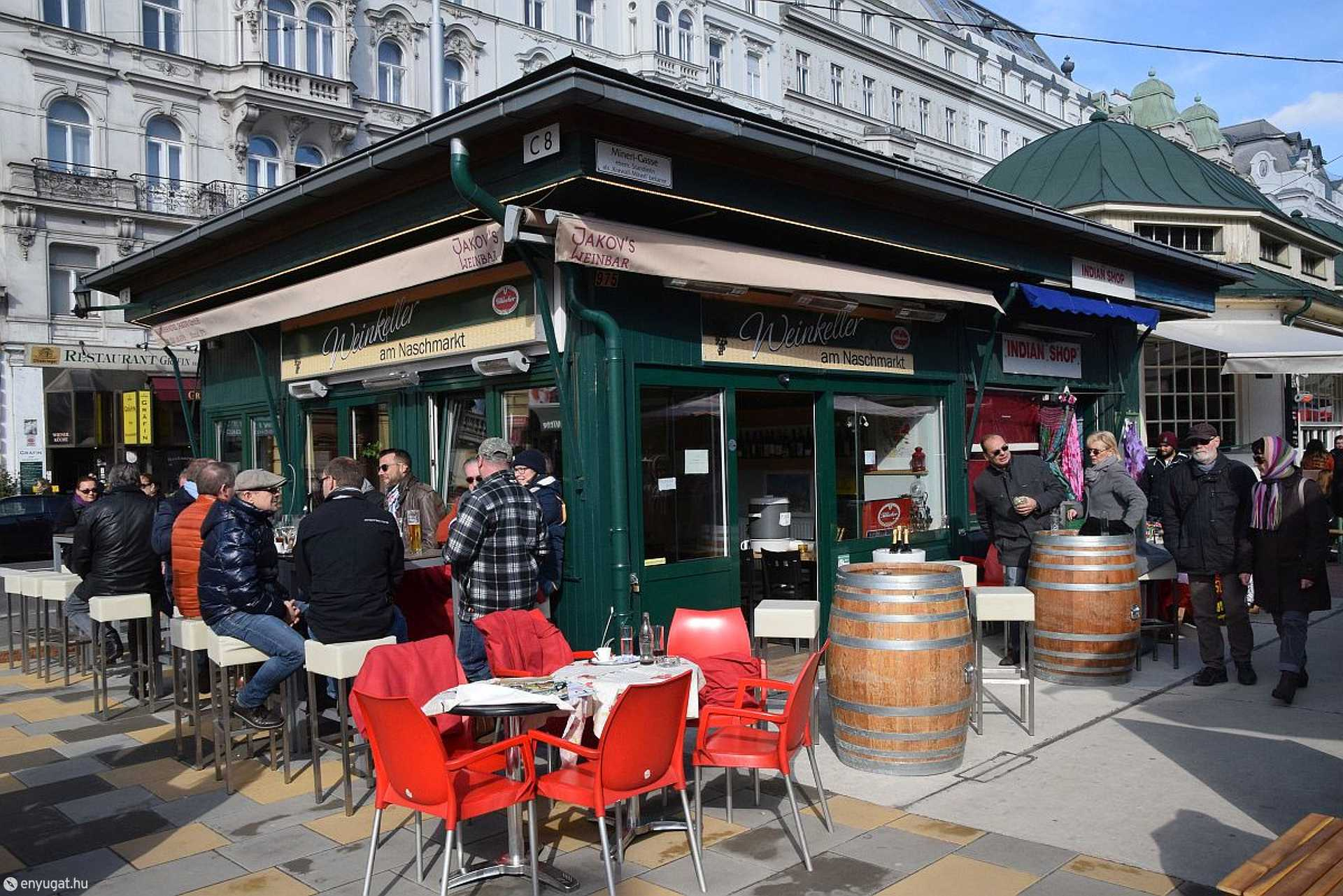 Bécs, Naschmarkt