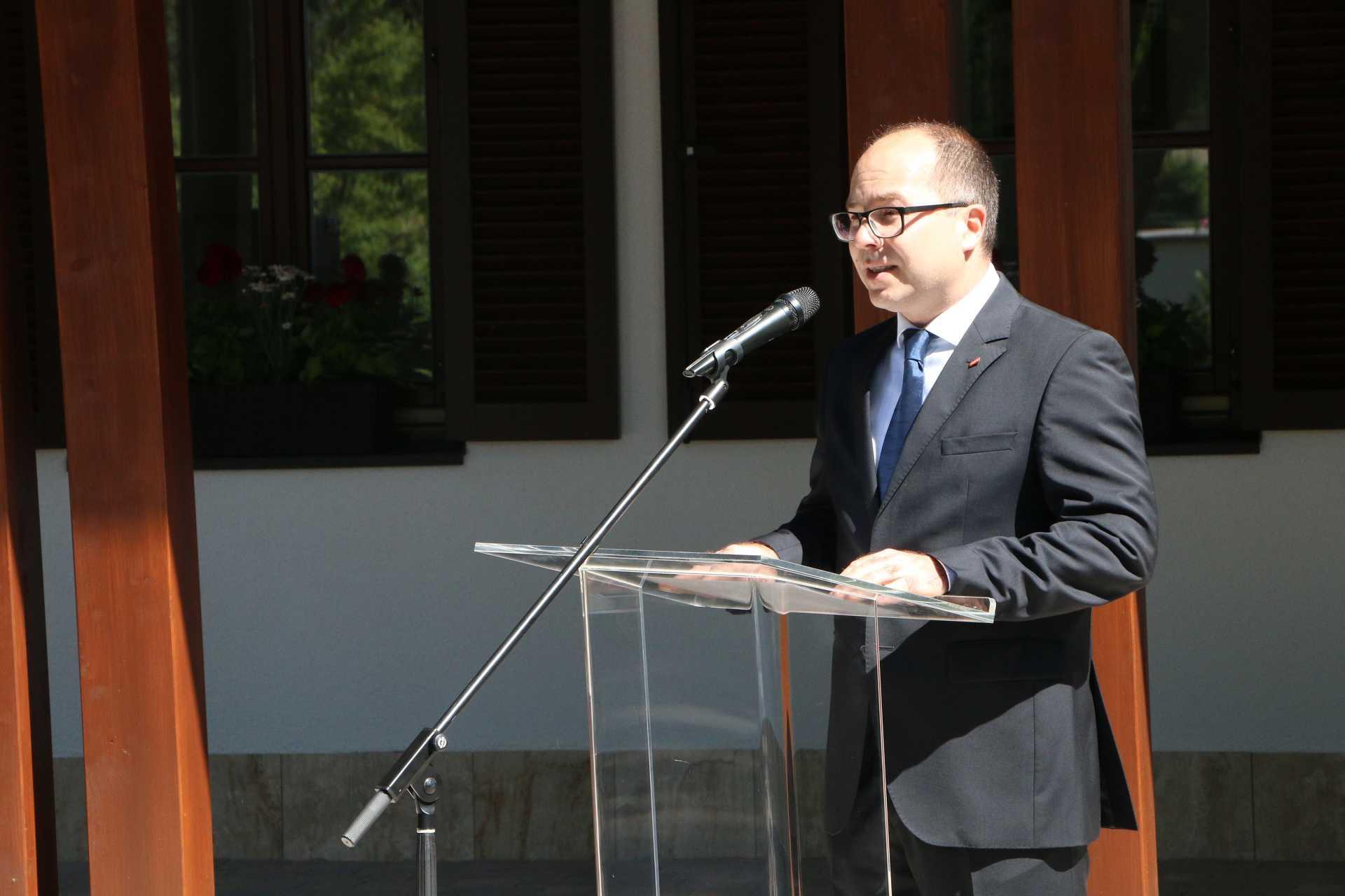 Bencsik Gergely, a VELUX Magyarország Kft. termelési igazgatója