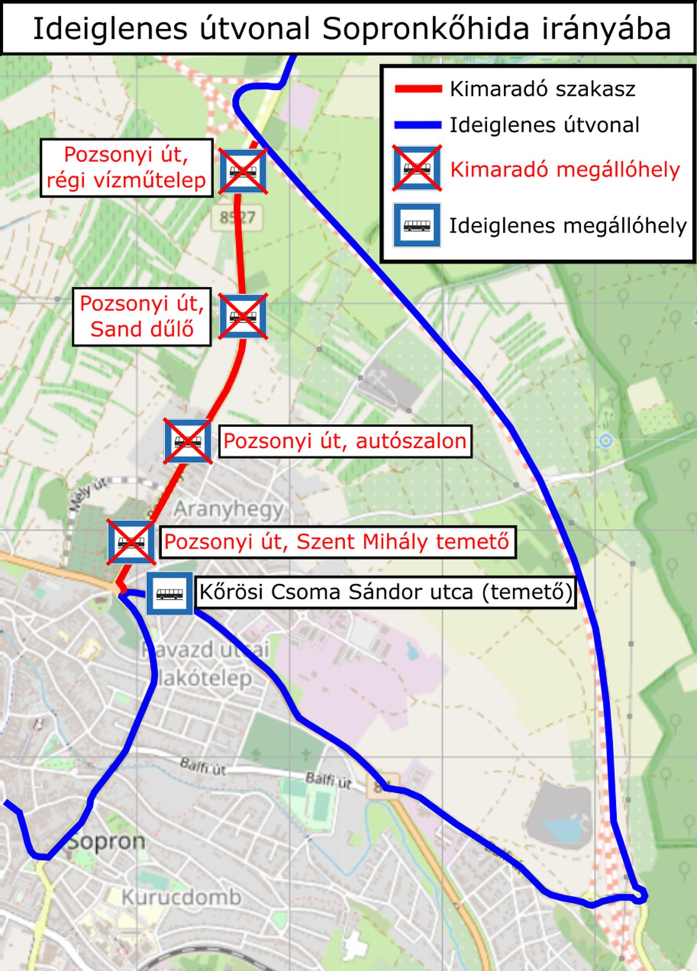 Buszos terelés Sopronban