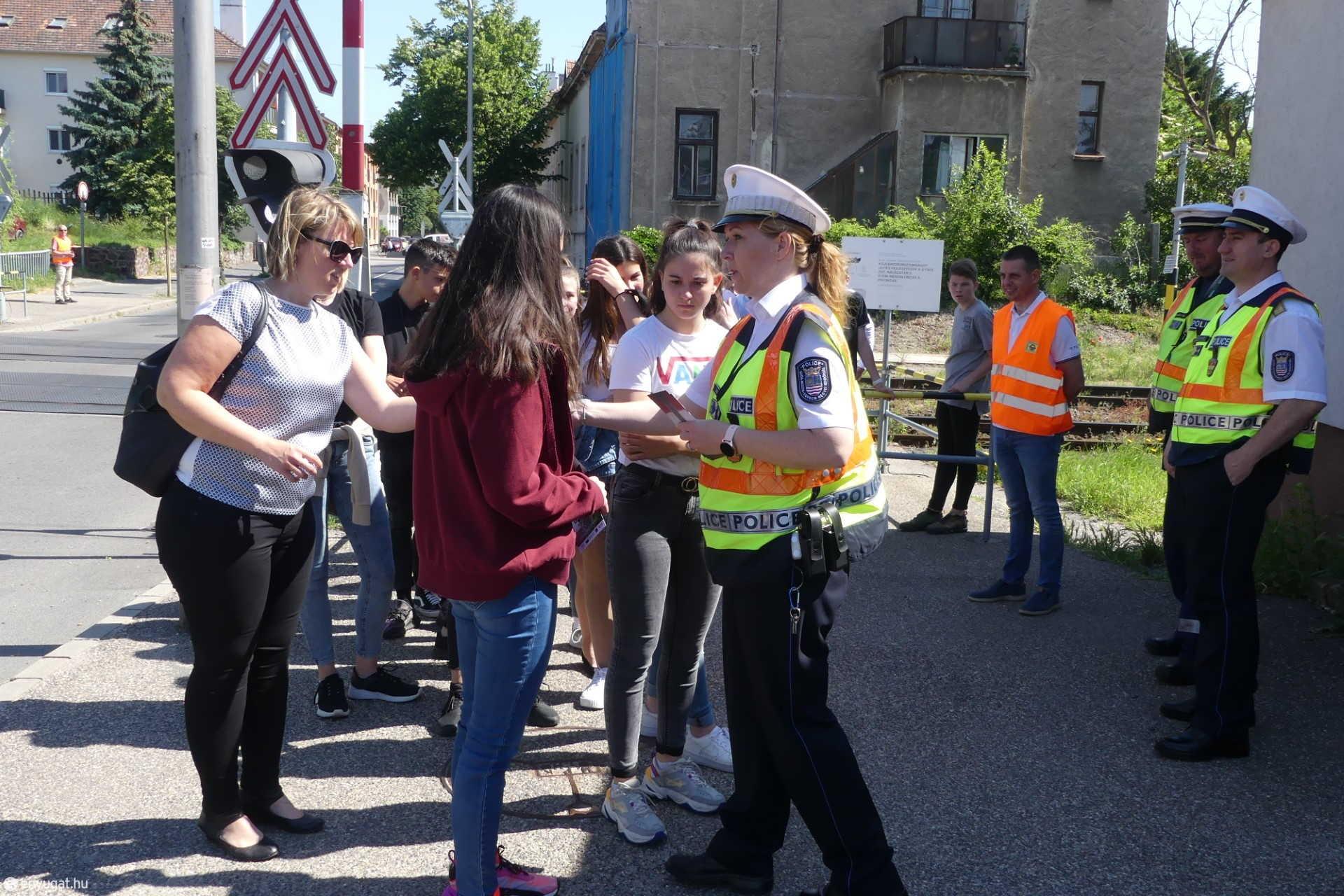 Nemzetközi Útátjáró Biztonsági Nap Sopronban