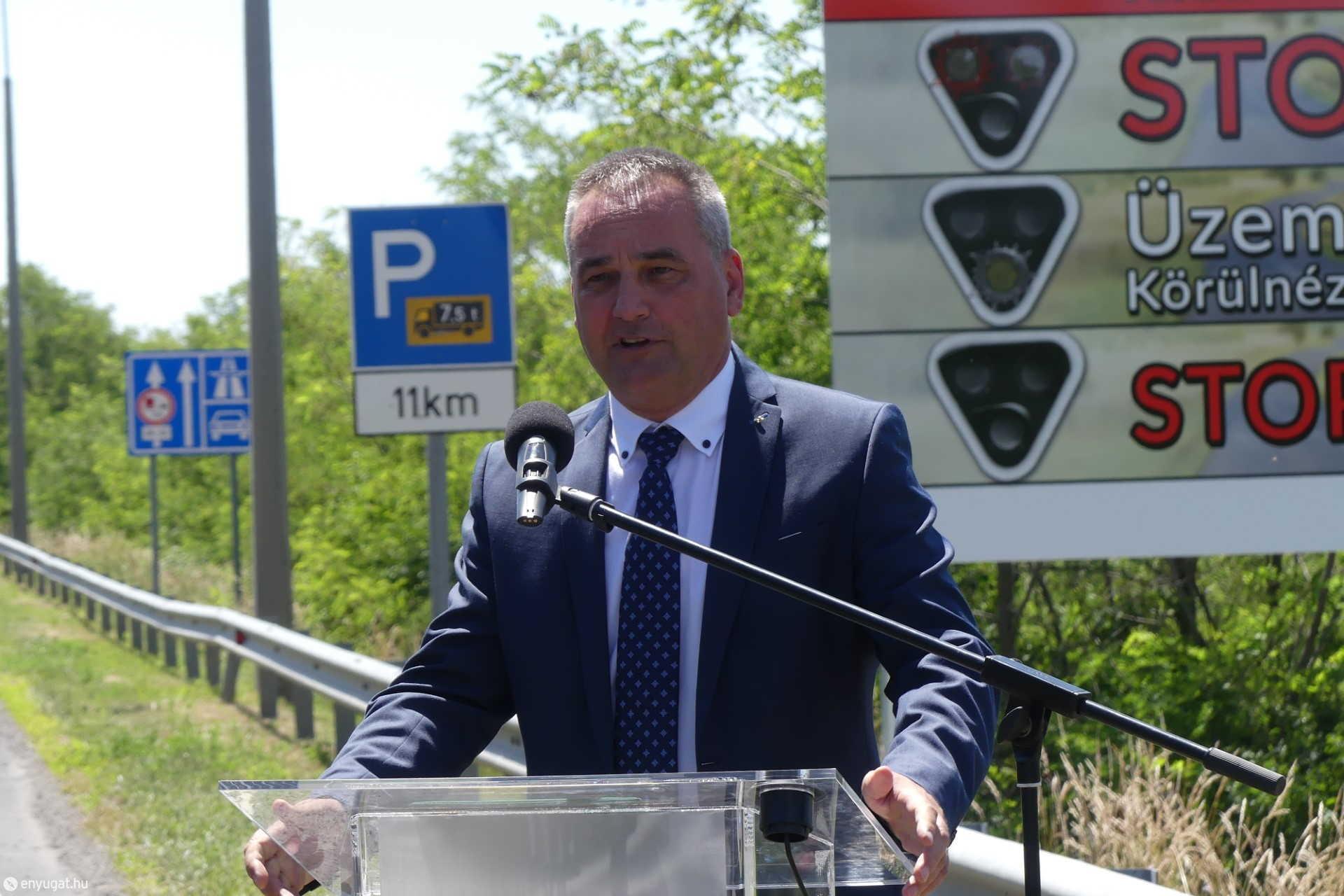Kövesdi Szilárd, a GYSEV Zrt. vezérigazgatója