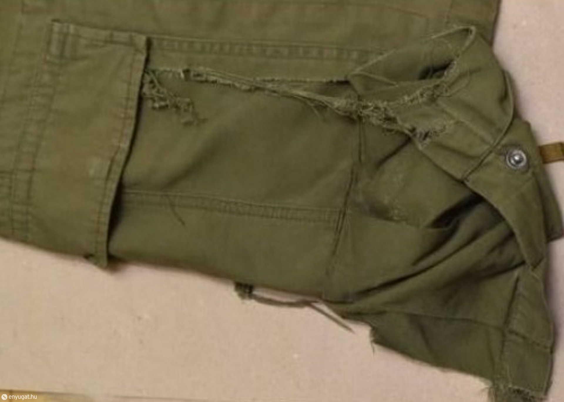 A szakadt nadrág, mint bűnjel.