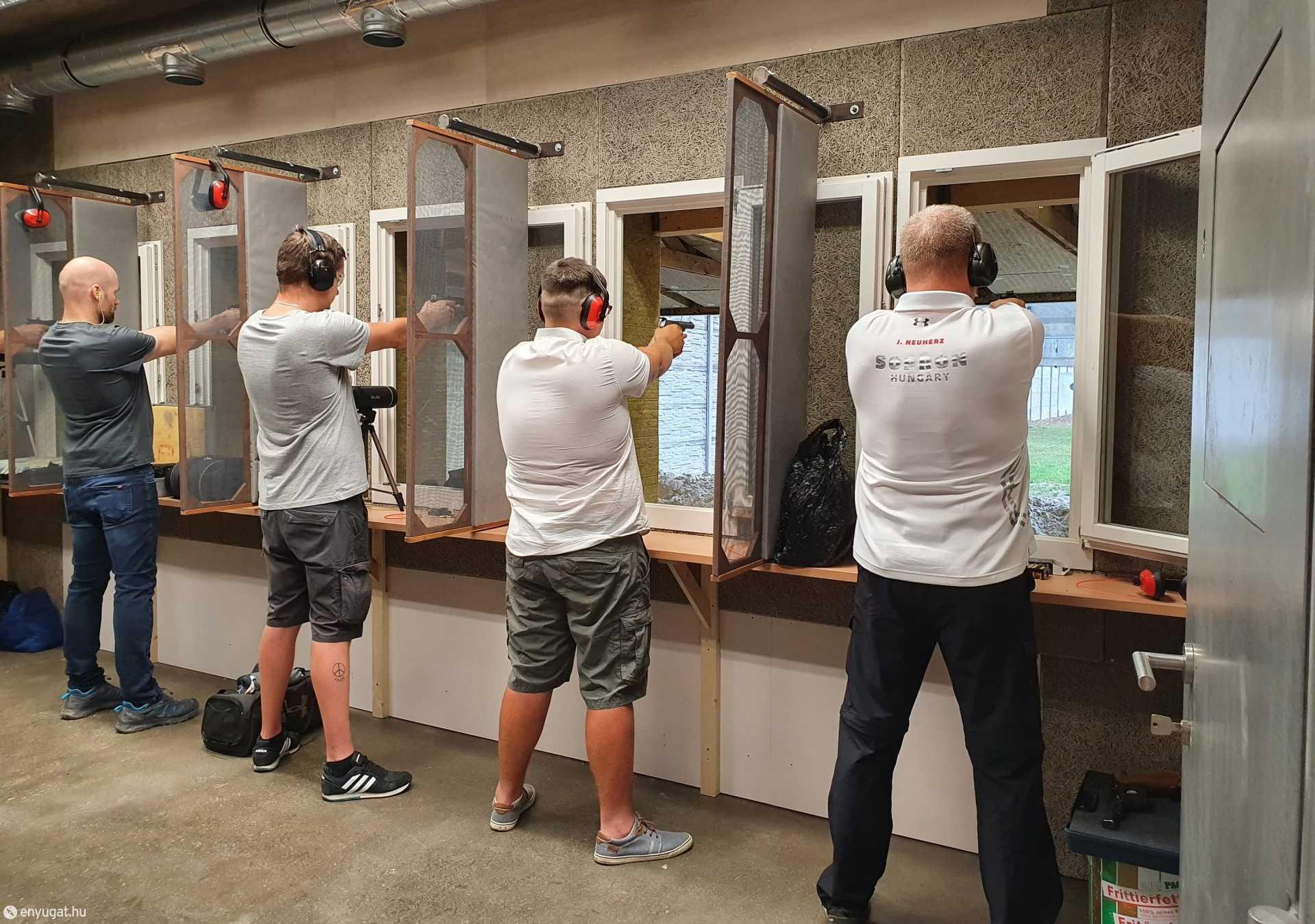 A sportpálya oktató lőtérként is fog üzemelni.