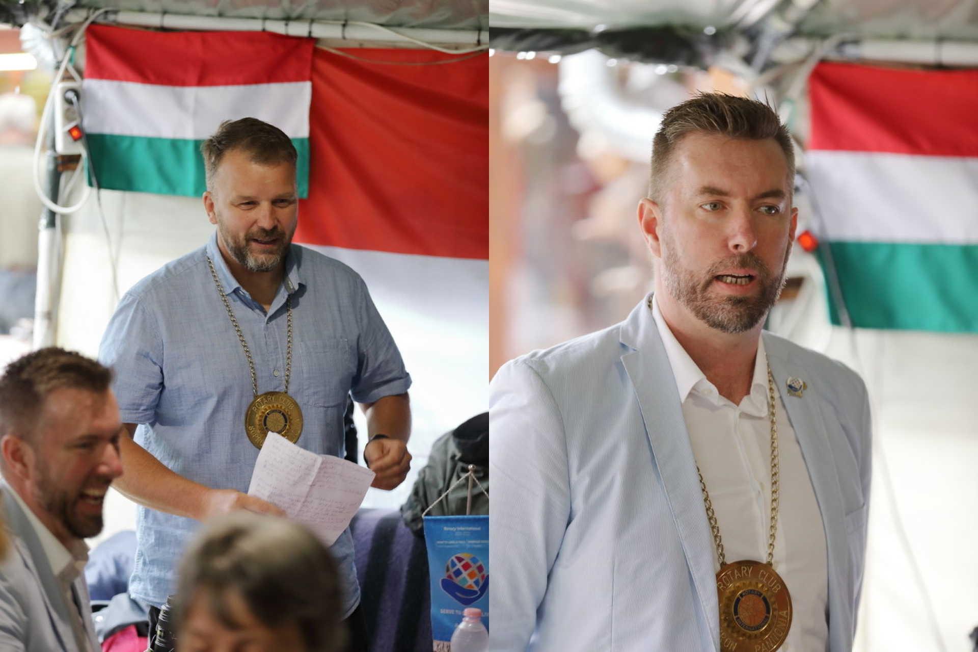 Rotary Club Sopron Pannonia láncátadó