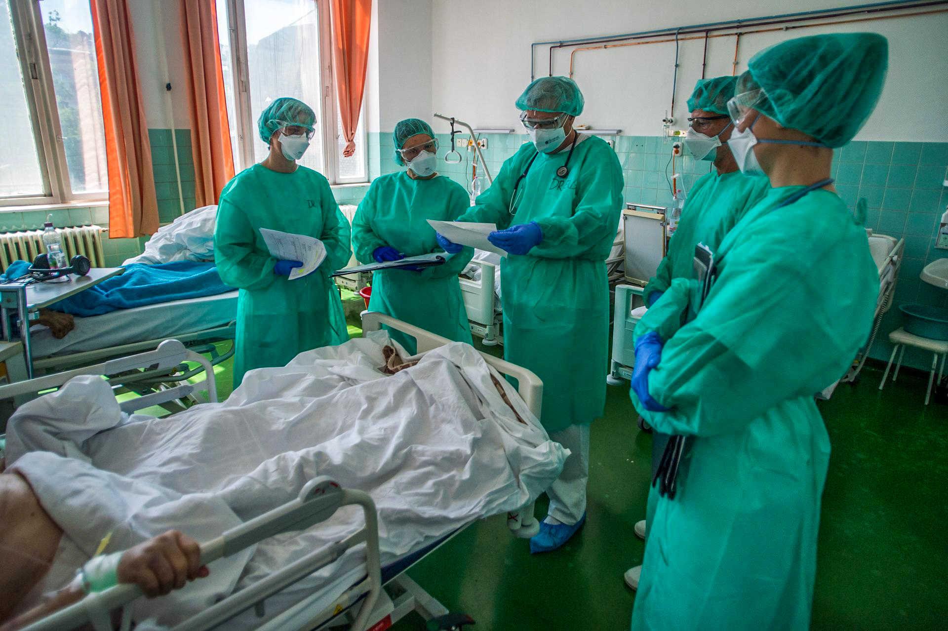 Koronavírus - A fővárosi Szent János Kórház, covid, koronavírus, korház, orvos, doktor, maszk