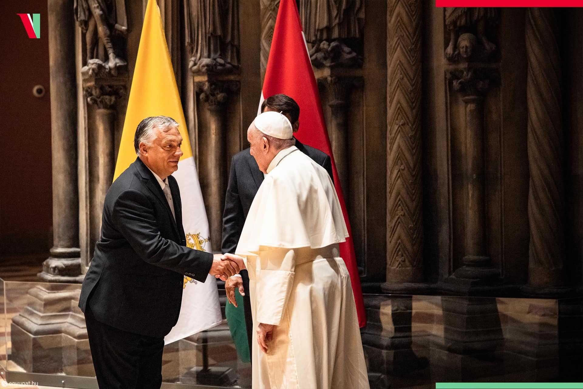 Orbán Viktor, Ferenc pápa