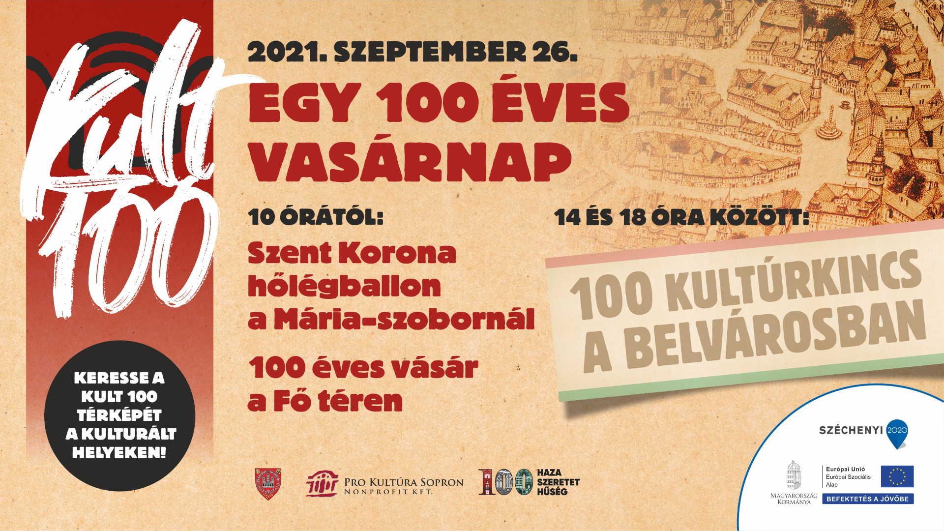 Kult100 plakát