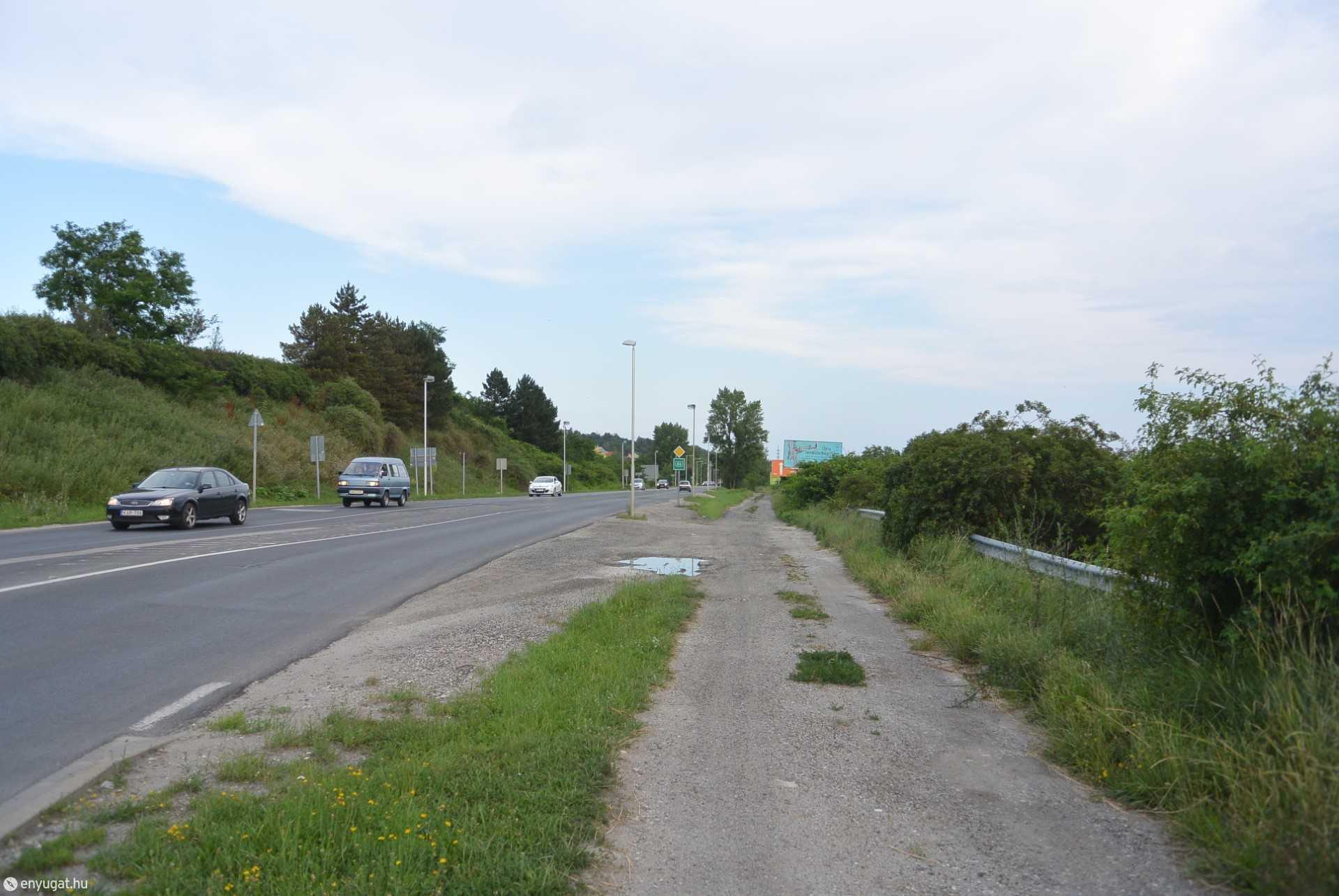 Egy lehetséges kerékpáros útvonal