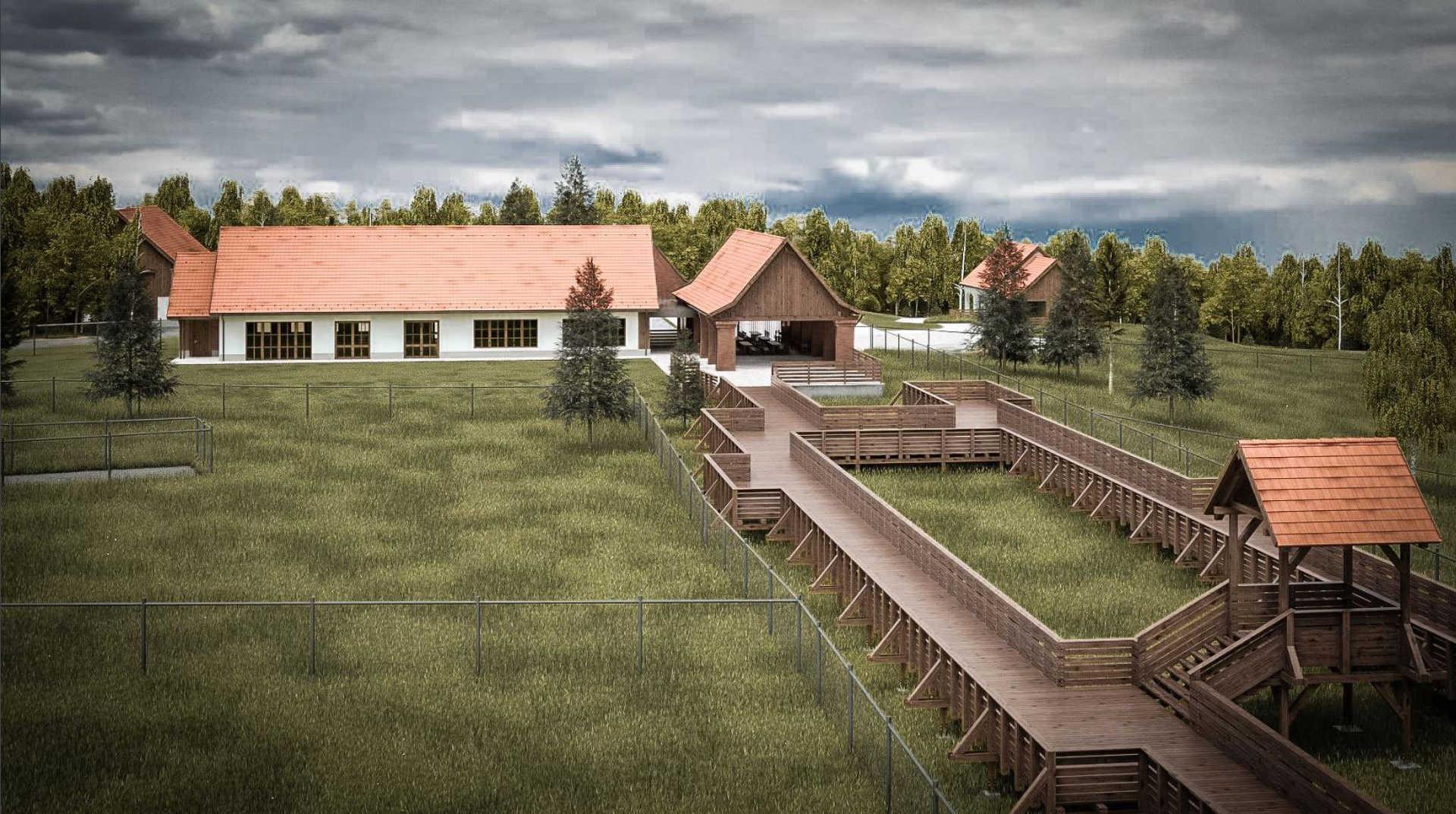 Erdő Háza látványterv