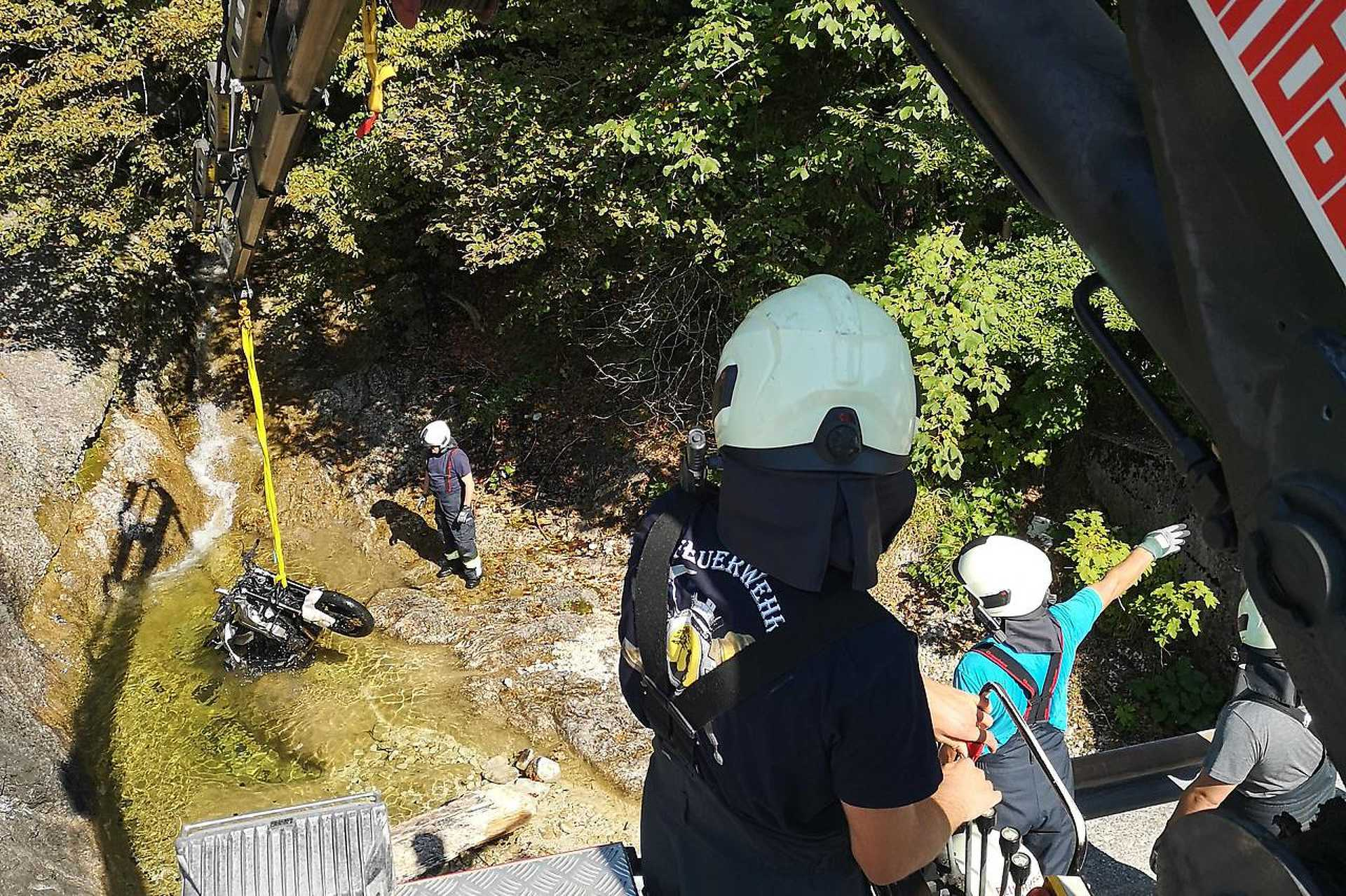Halálos motorbaleset Ausztriában
