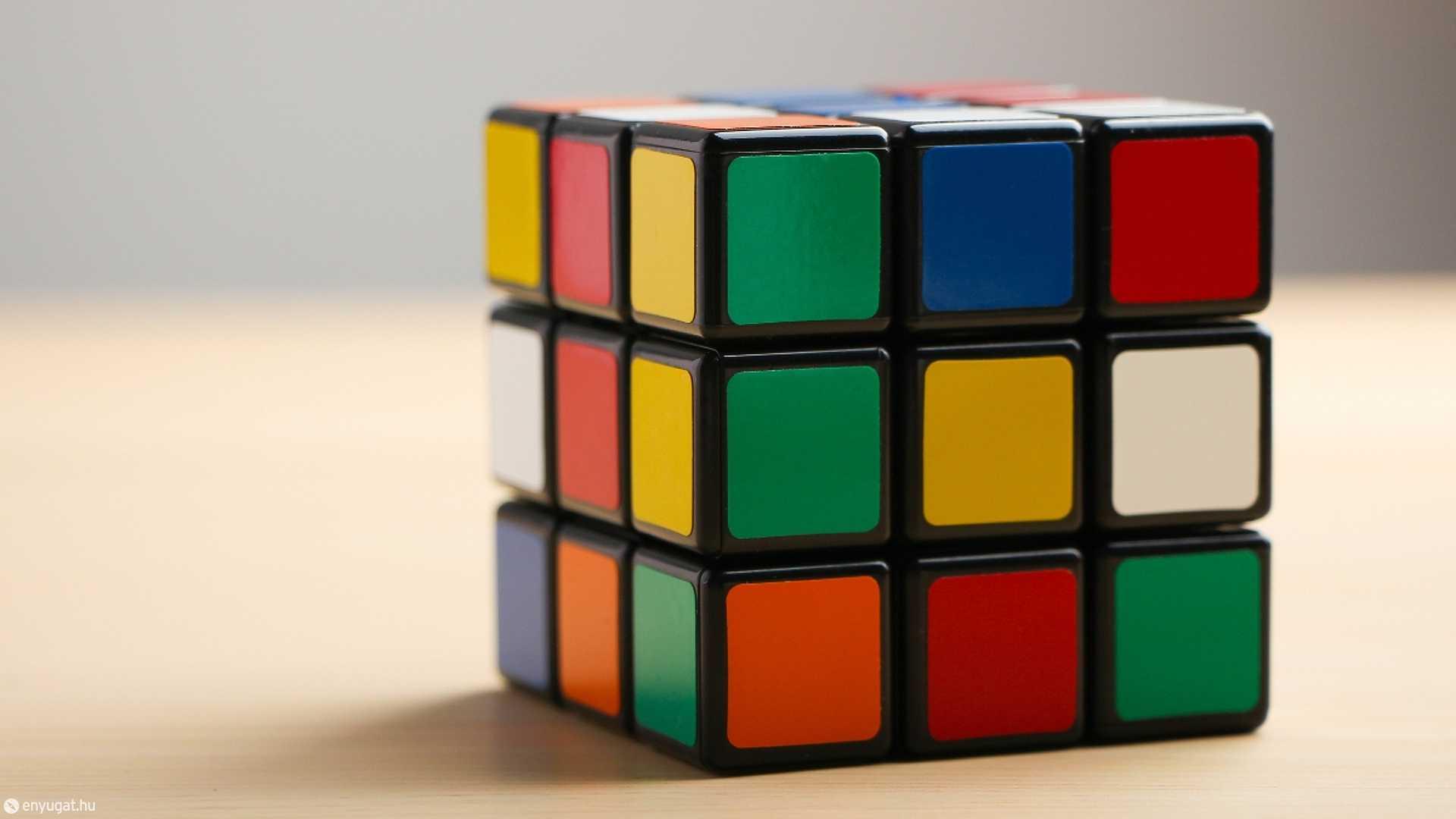 A kocka népszerűsége csaknem 50 éve töretlen.