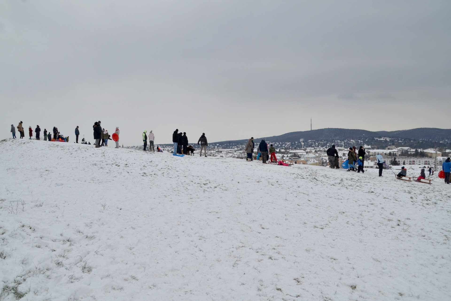Téli örömök a Bécsi dombon