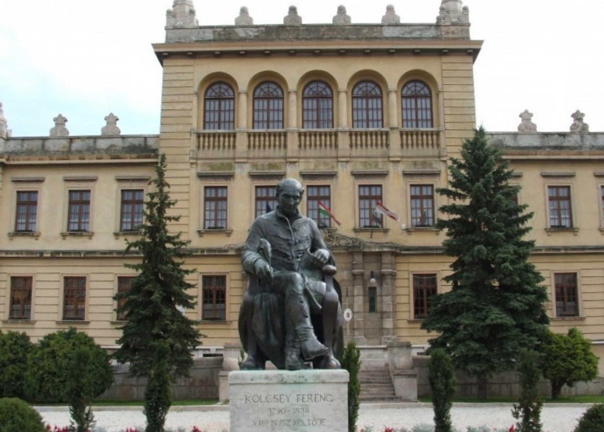 Kölcsey Ferenc szobra Sopronban