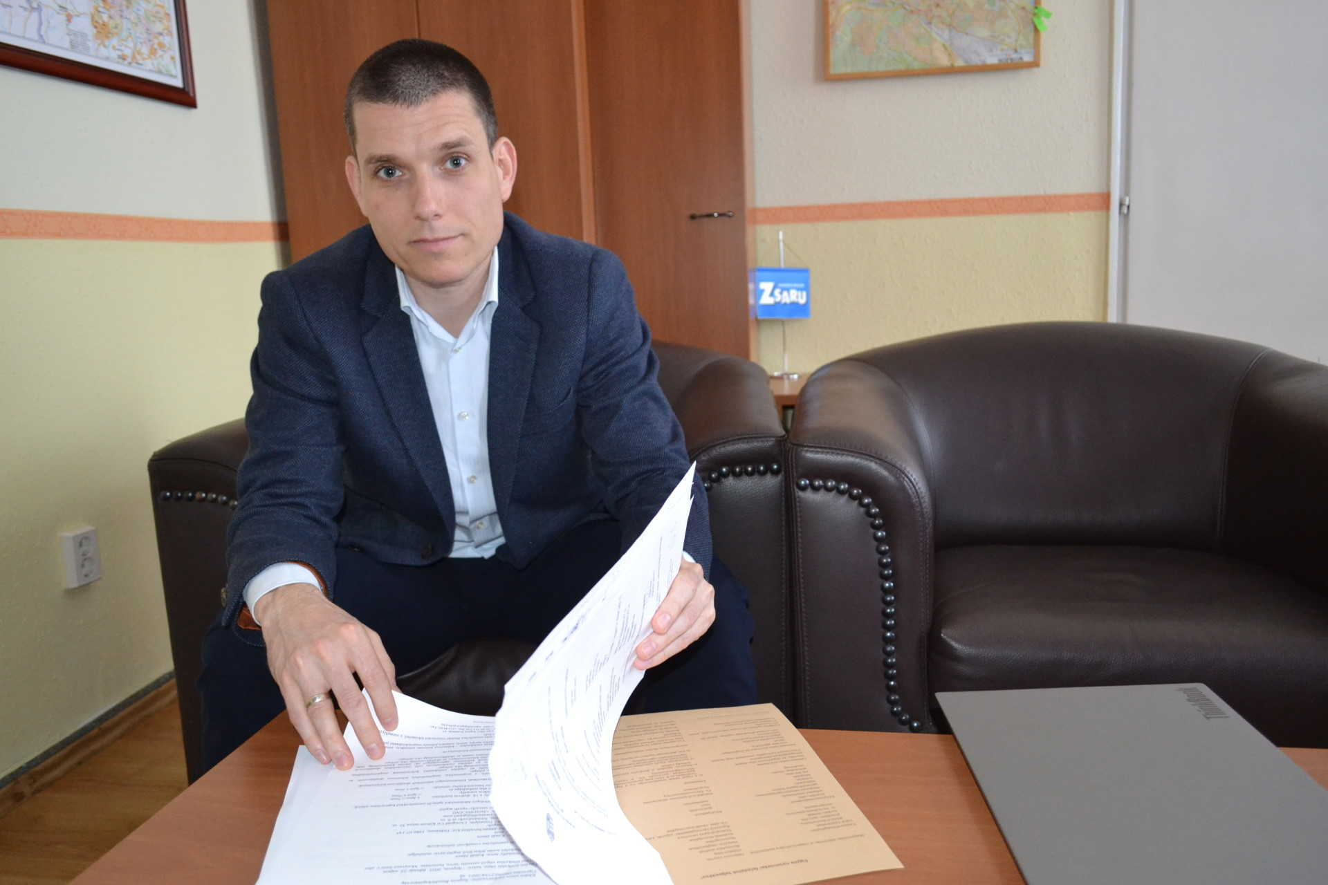 Dr. Herczeg Zoltán, Sopron rendőrkapitánya.