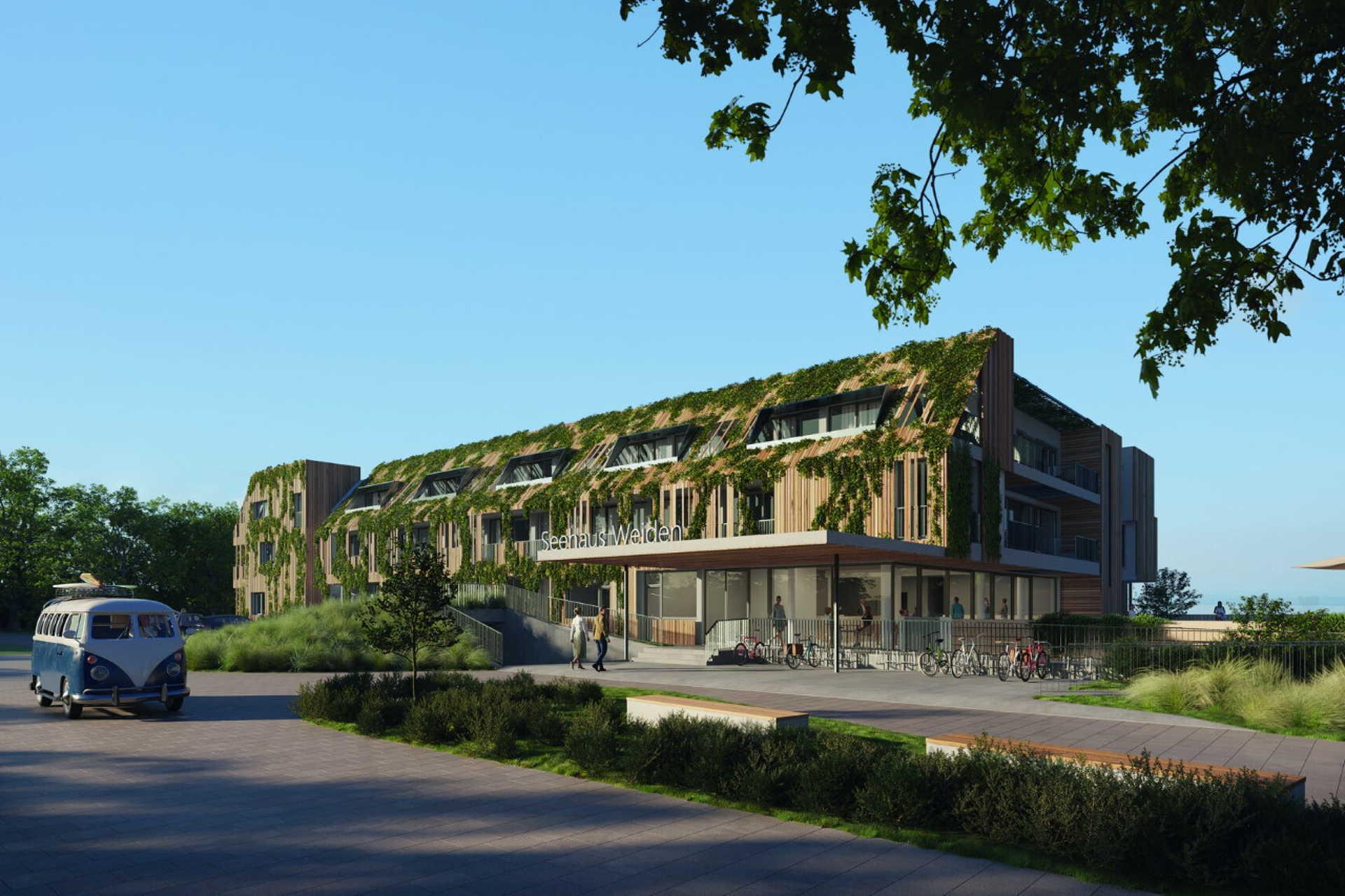Látványterveken az új védenyi szálloda