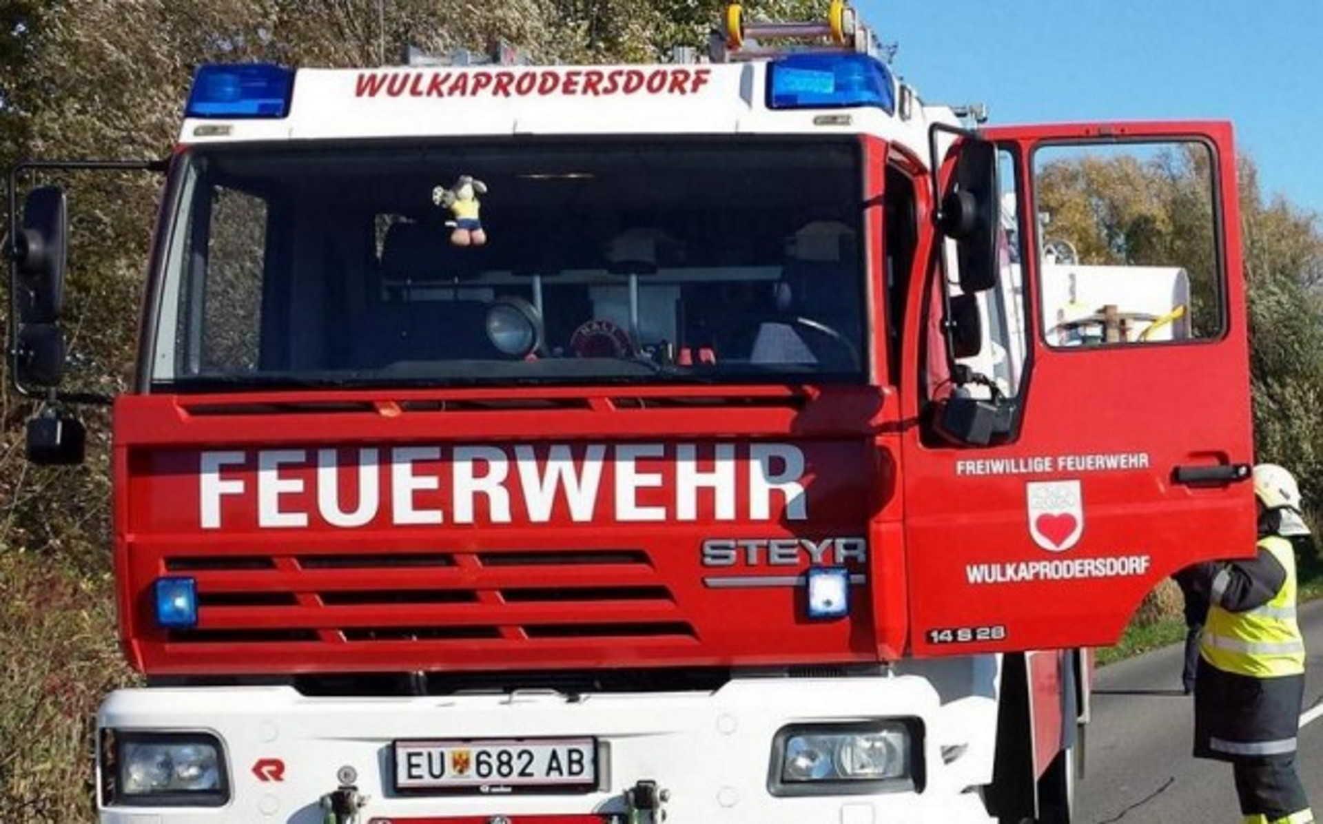 osztrák tűzoltó