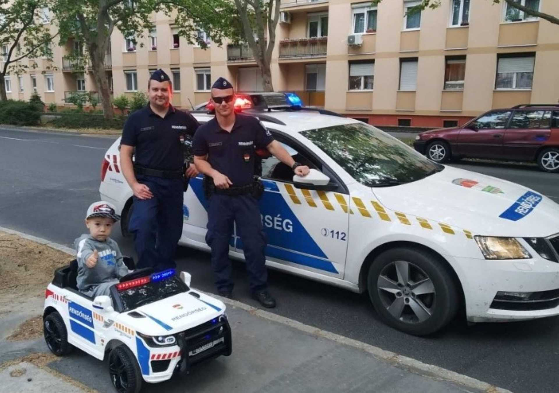 rendőrségi cuki