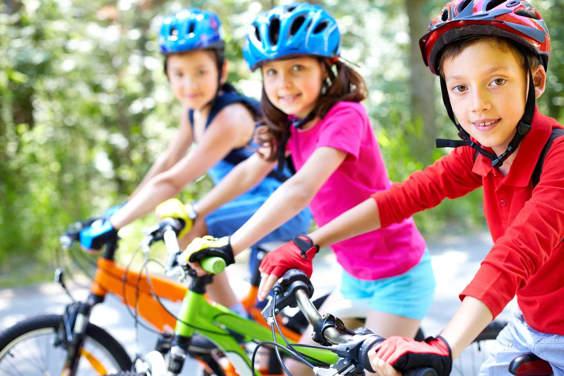 közlekedés, gyerek, bicikli