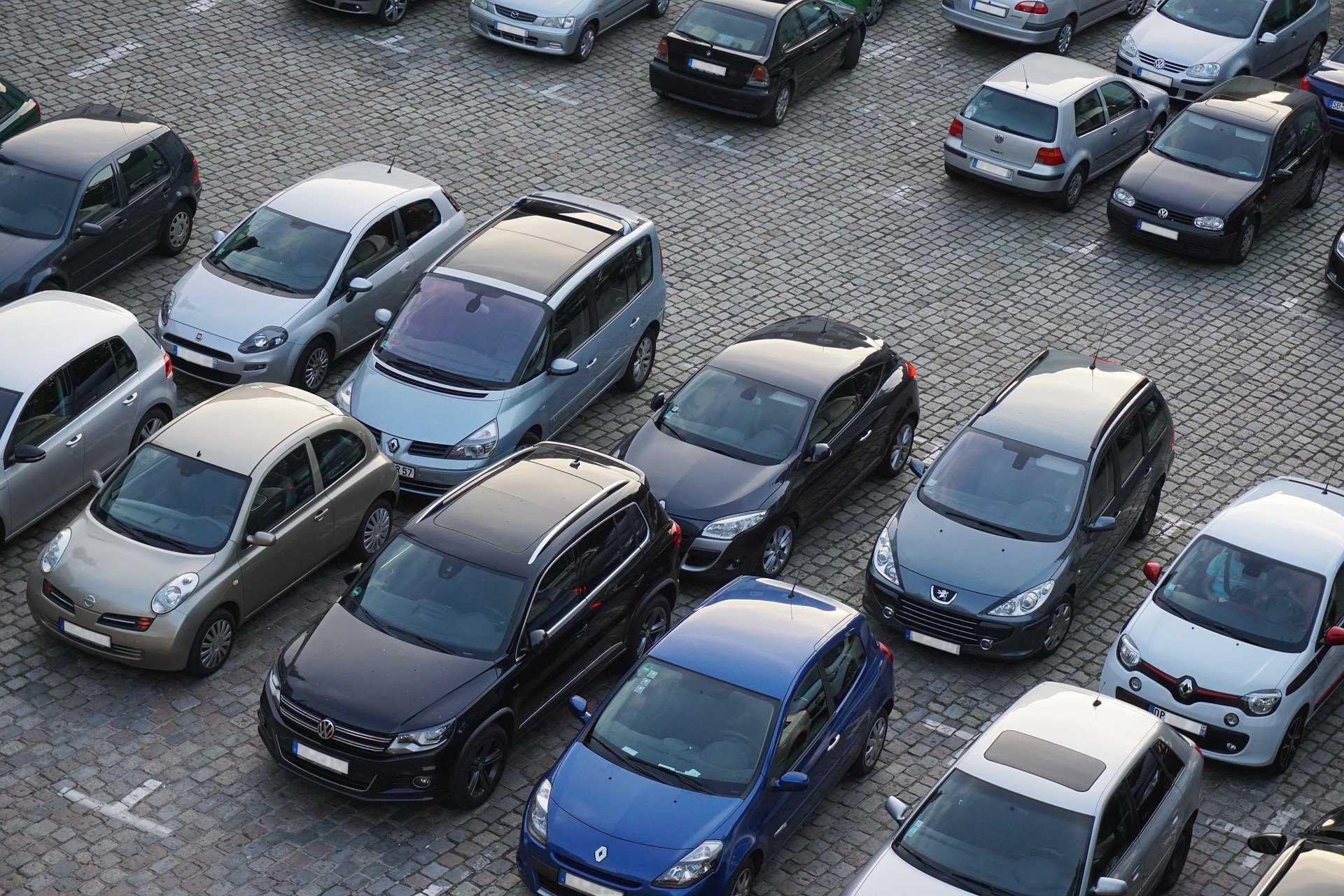 parkoló, parkolás