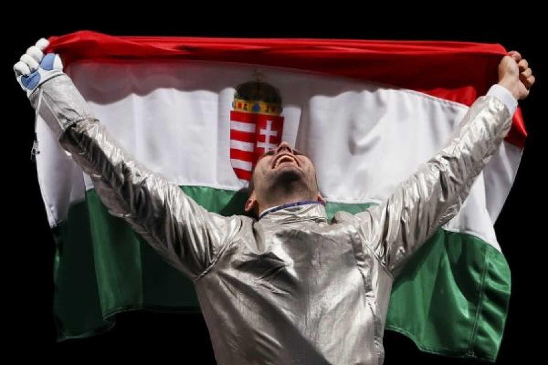 Szilágyi Ároon olimpiai Bajnok