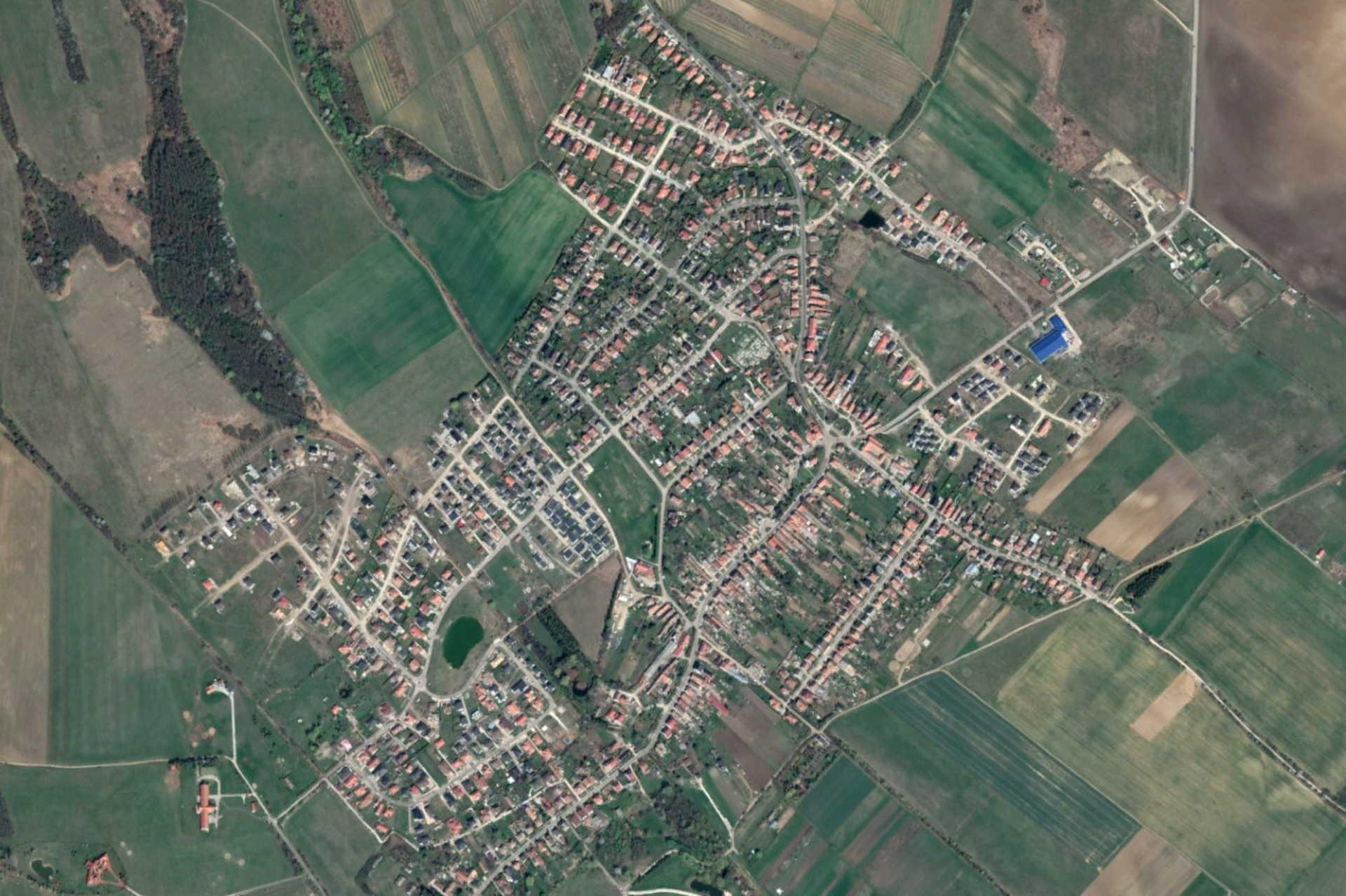Harka egy 2019-es műholdképen
