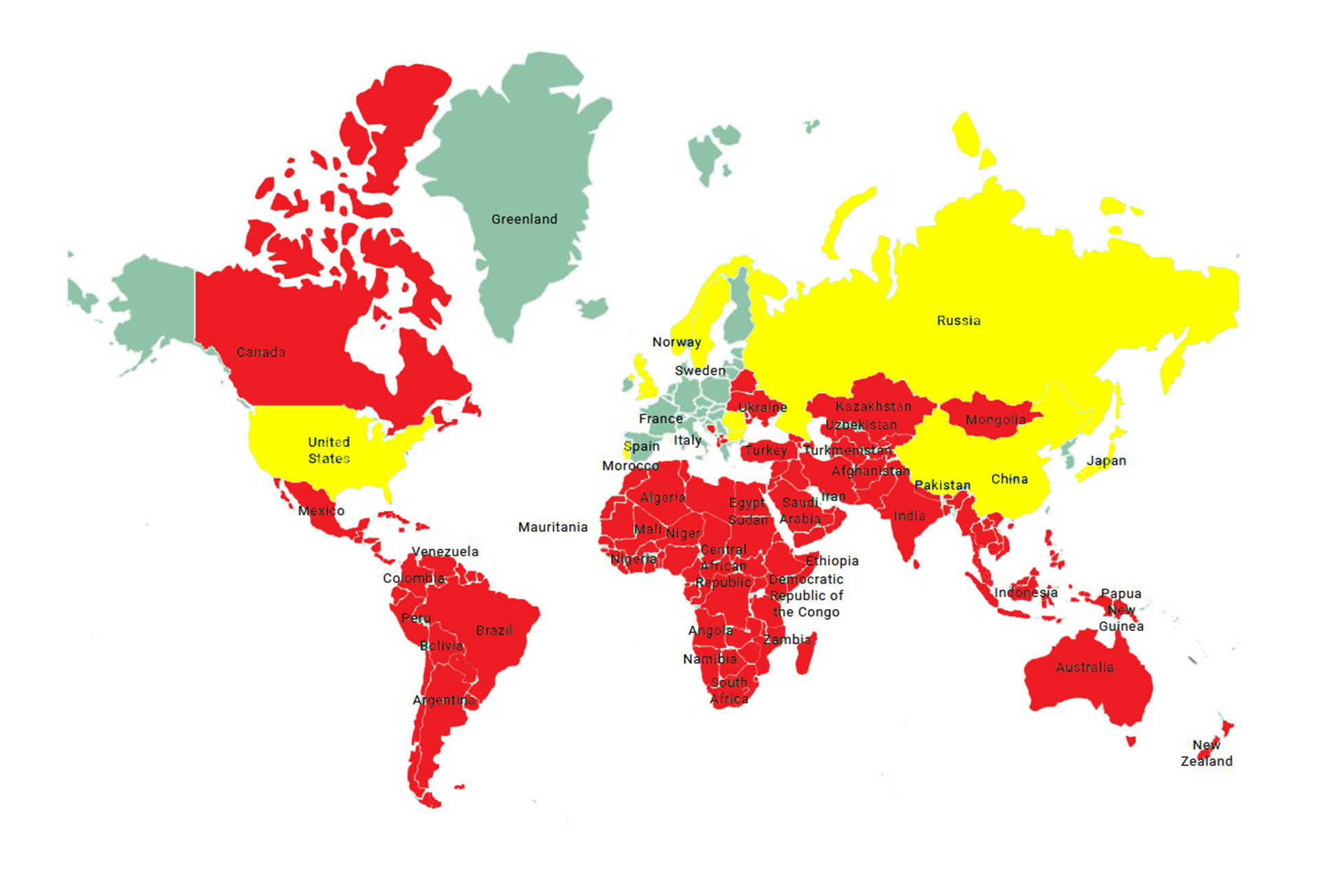 covid térkép