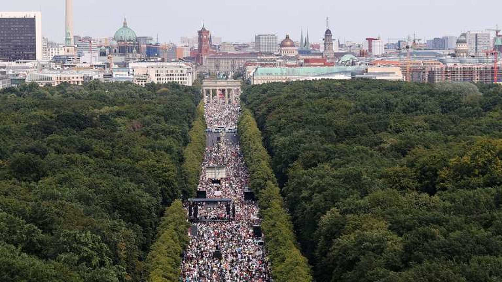 berlini tüntetés