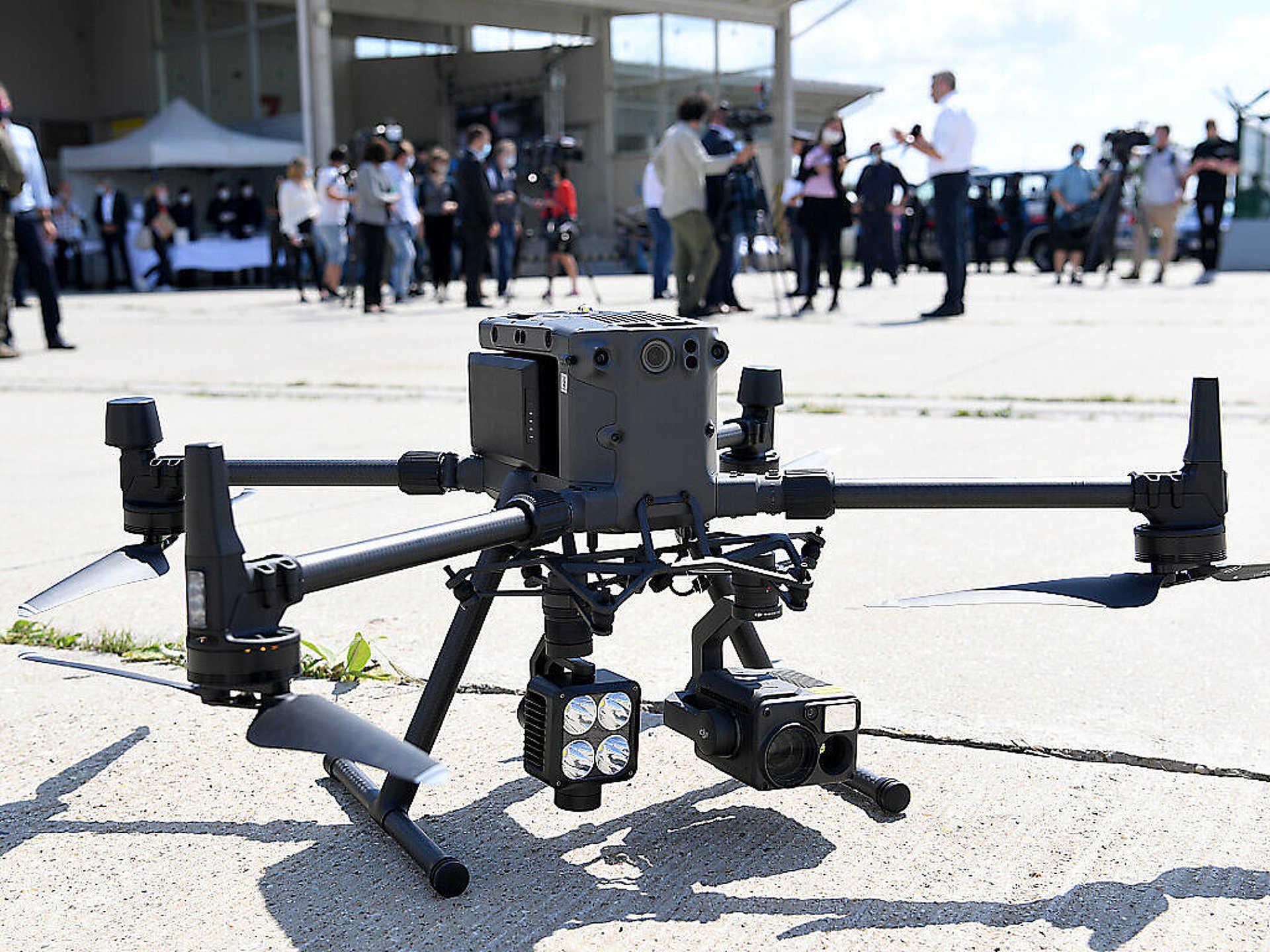 Profi drón a határőrizetben