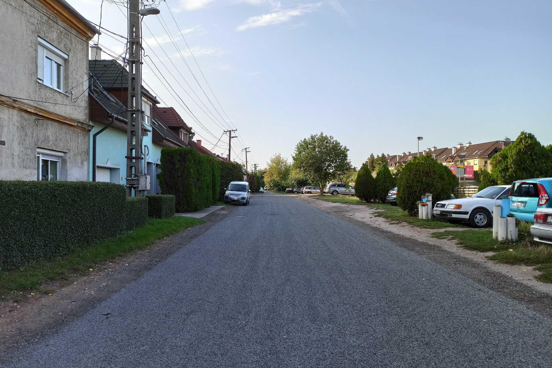 Megújult az Agyag utca