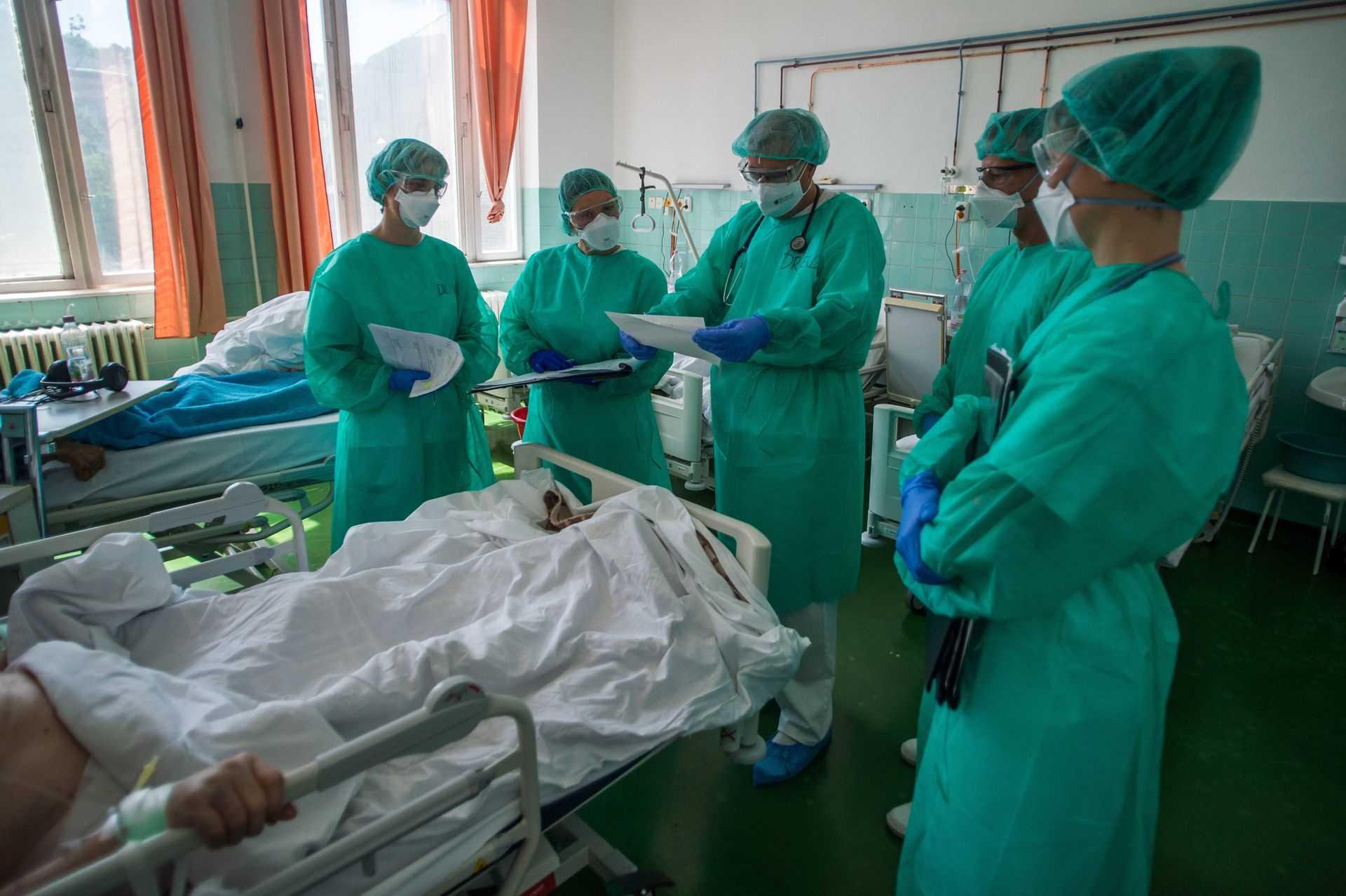 Koronavírus - A fővárosi Szent János Kórház