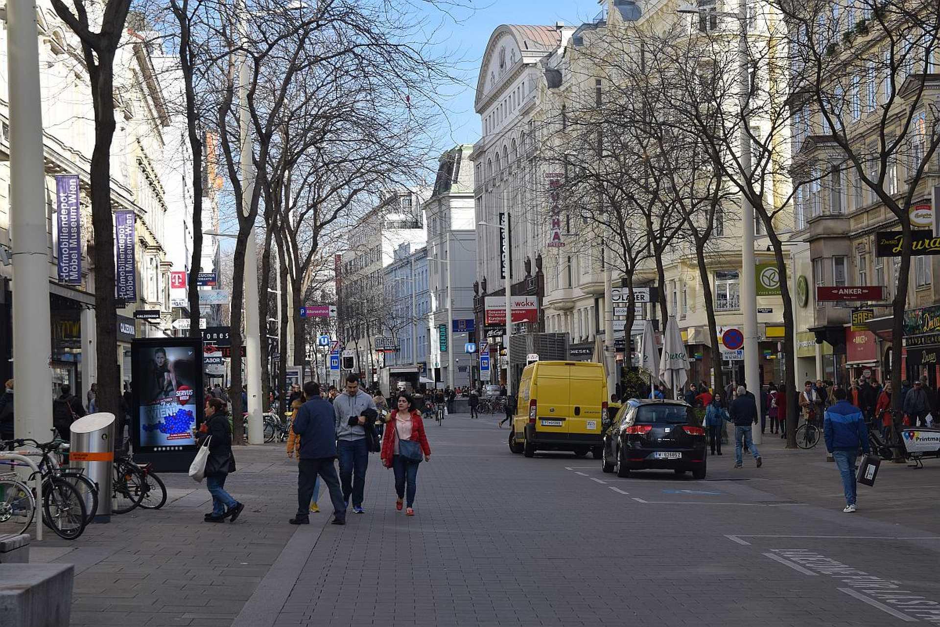 Bécs, Mariahilferstrasse