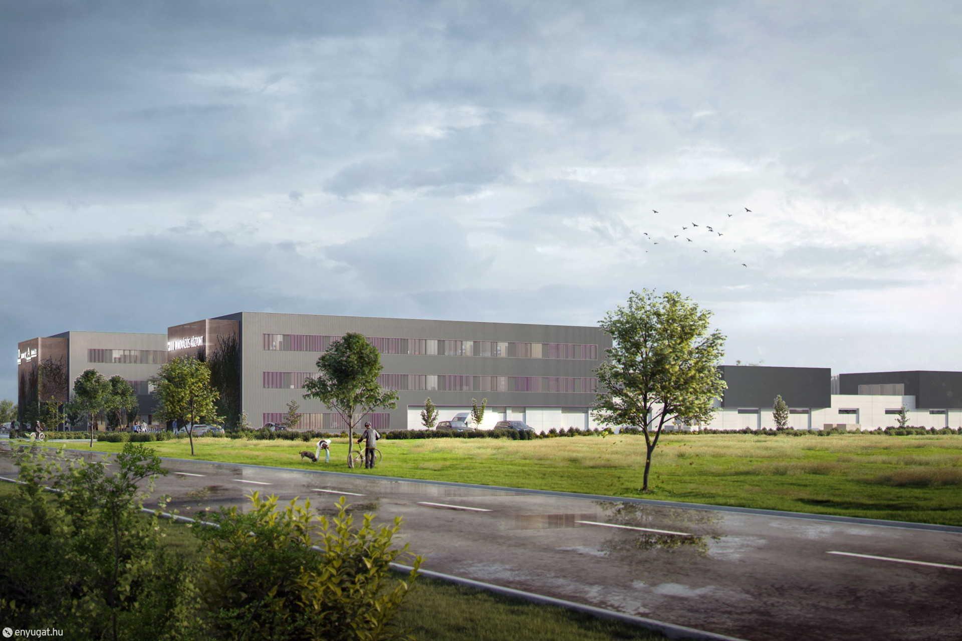 A technológiai centrum inkubátorházának látványképe.