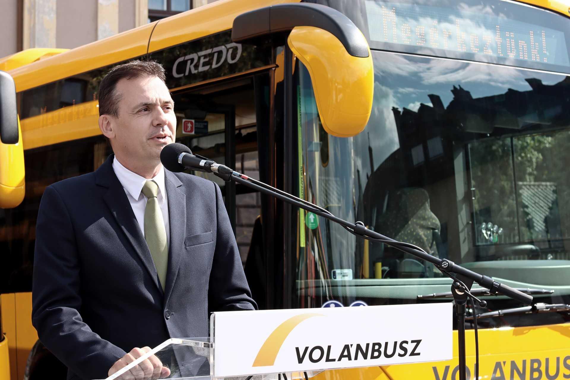 Credobus átadó Sopronban