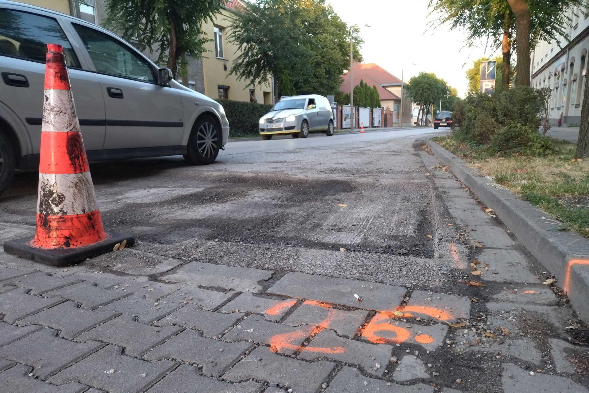 Sopron Csengery utca 2021 nyár