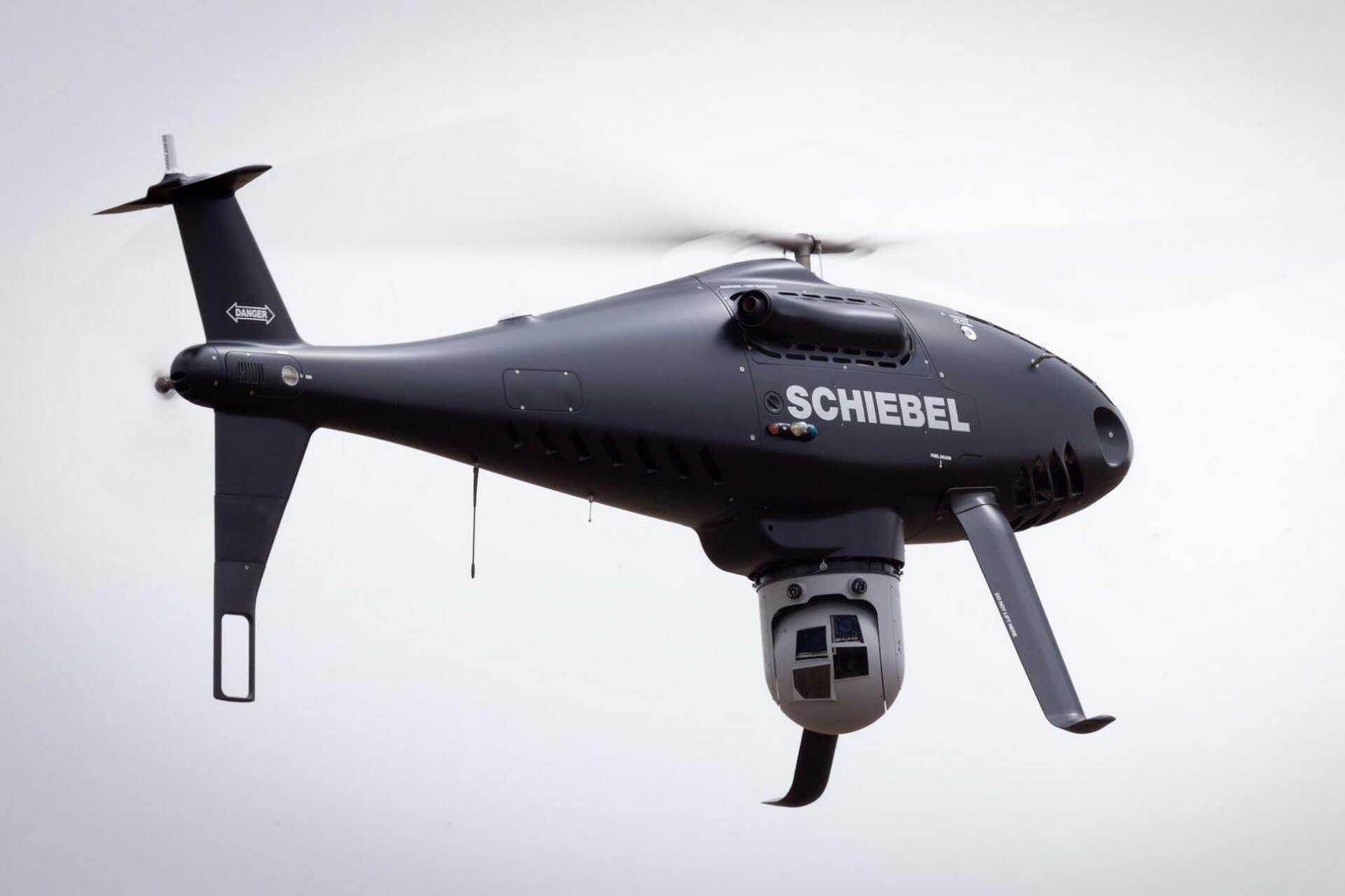 Ez a  camcopters, vagy repülő szem. Éjszaka is lát.